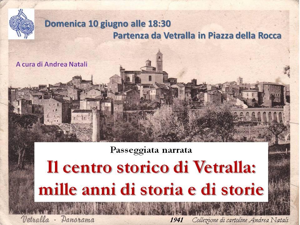 Passeggiata nel centro storico di Vetralla